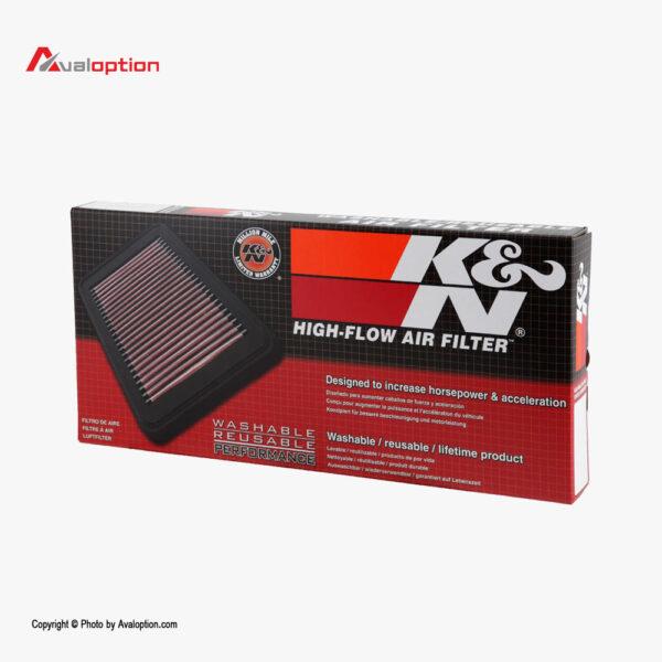 فیلتر هوای K&N پژو 207 و 206 و رانا