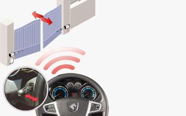 کیت کنترل درب پارکینگ با نور بالا - نوراتی